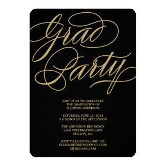 Formal Grad | Graduation Party Invitation