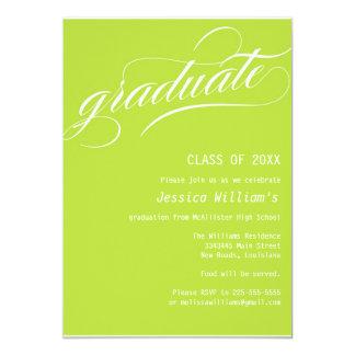 "Formal Graduation Party 5"" X 7"" Invitation Card"