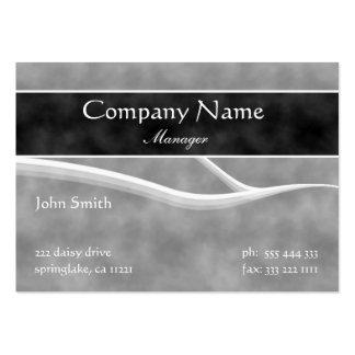 Formal Grey Business Card