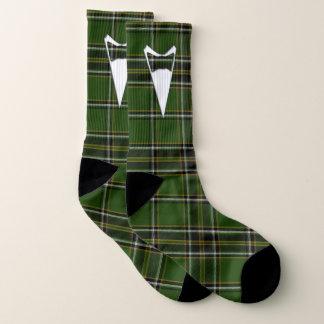 Formal Groom or Prom Irish Tartan Socks