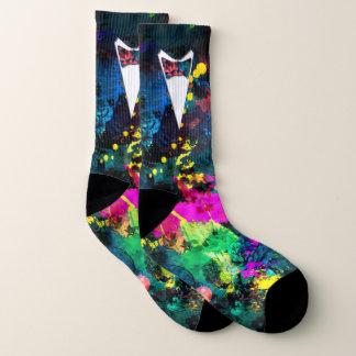 Formal Groom or Prom Paintball Socks