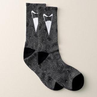 Formal Groom or Prom Paisley Socks