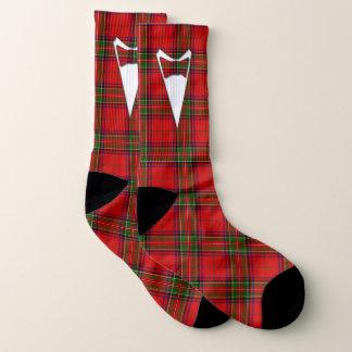 Formal Groom or Prom Tartan Plaid Socks
