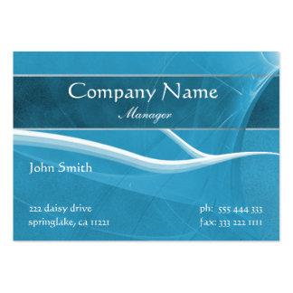 Formal Light Blue Business Card
