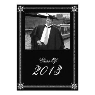 Formal Photo Graduation Invitation