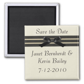 Formal Save the Date magnet