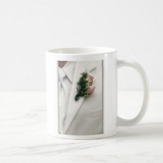 Formal White Tuxedo Mug