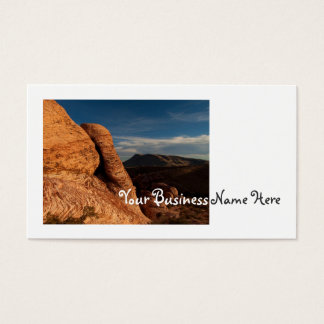 Formations in Red Rock Business Card