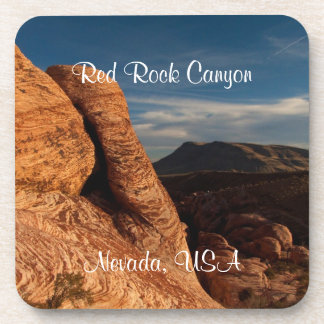 Formations in Red Rock; Nevada Souvenir Coasters