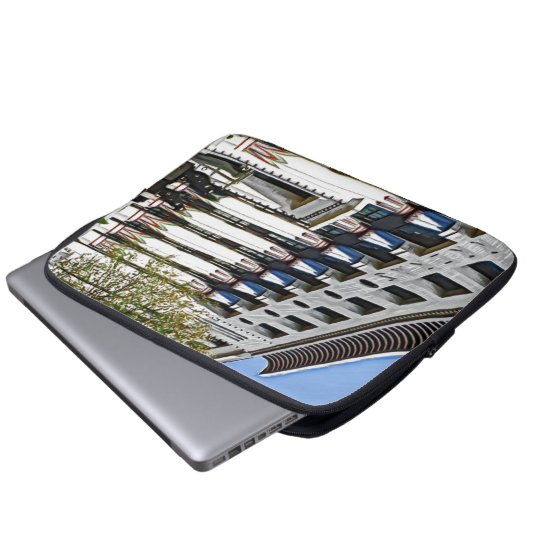 former Carreras Factory, London Laptop Sleeve