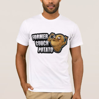 Former Couch Potato Exercise/Fitness Design T-Shirt
