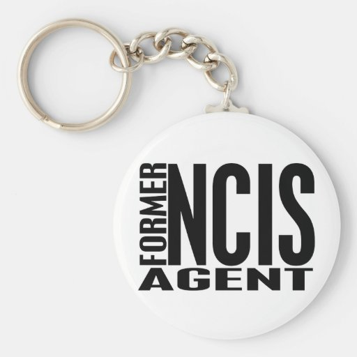 Former NCIS Agent Key Chains