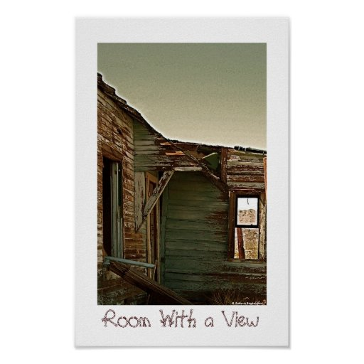 Former Room With a View in Ghost Town Print