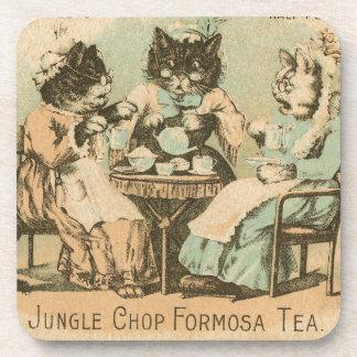 Formosa Tea Cats Beverage Coaster