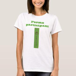 Forms participant LADIES babydoll (Plato) T-Shirt