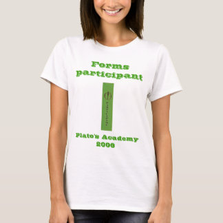 Forms participant, Plato's Academy LADIES babydoll T-Shirt