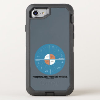 Formulaic Power Wheel Physics Formula Diagram OtterBox Defender iPhone 7 Case