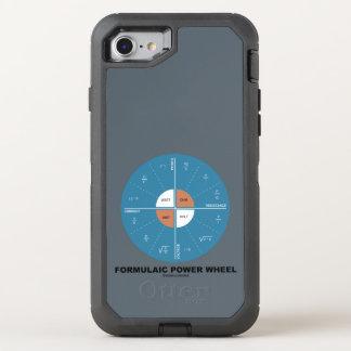 Formulaic Power Wheel Physics Formula Diagram OtterBox Defender iPhone 8/7 Case