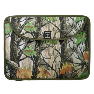 Forrest Camo Macbook Pro Laptop Case Sleeve