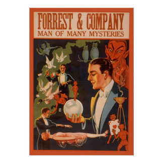 Forrest & Company man of many mysteries Poster