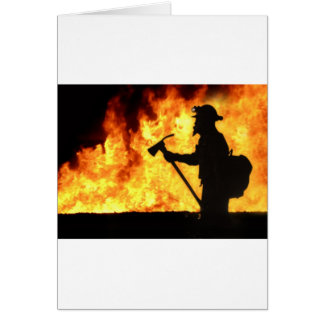Forrest Fire Greeting Card