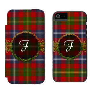 Forrester Tartan And Monogram Incipio Watson™ iPhone 5 Wallet Case