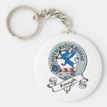 Forsyth Clan Badge Keychains