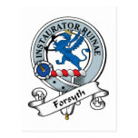 Forsyth Clan Badge Postcard