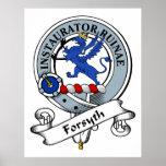 Forsyth Clan Badge Print