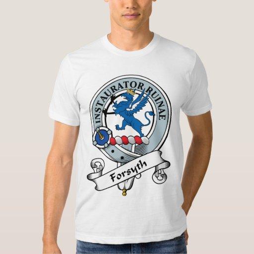 Forsyth Clan Badge Tshirts