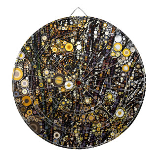Forsythia in Bloom Dartboard