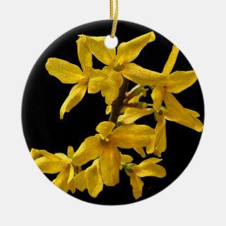 Forsythia Ornament