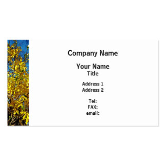 Forsythia Pack Of Standard Business Cards