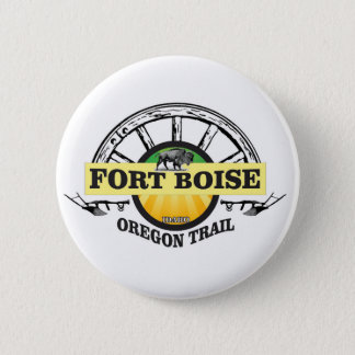 fort boise yellow marker 6 cm round badge