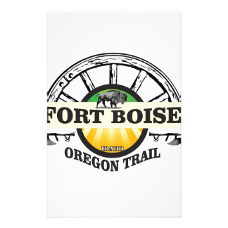 fort boise yellow marker stationery