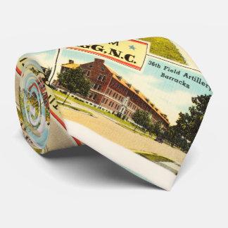 Fort Bragg # 2 North Carolina NC Vintage Souvenir- Tie