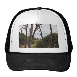Fort Bragg, CA coastline Trucker Hats