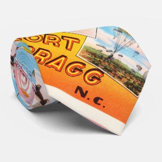 Fort Bragg North Carolina NC Old Vintage Postcard- Tie