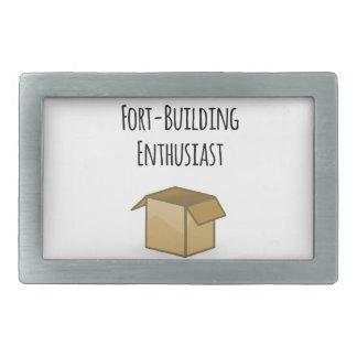 Fort-Building Enthusiast Belt Buckle