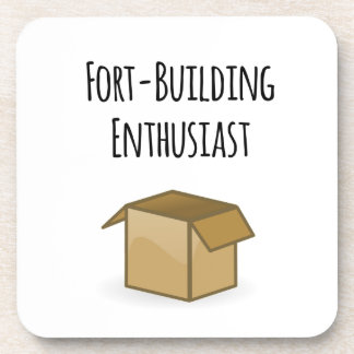Fort-Building Enthusiast Coaster