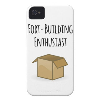 Fort-Building Enthusiast iPhone 4 Cover