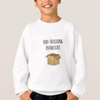 Fort-Building Enthusiast Sweatshirt