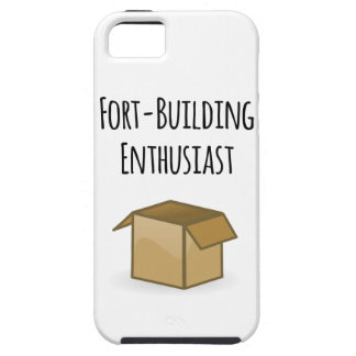 Fort-Building Enthusiast Tough iPhone 5 Case