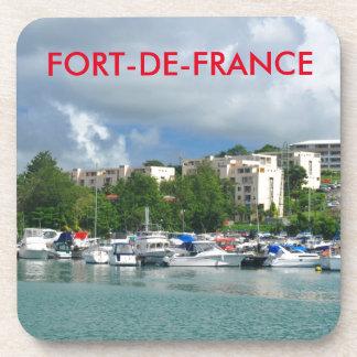 Fort-de-France, Martinique Drink Coasters