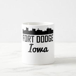 Fort Dodge Iowa Skyline Coffee Mug