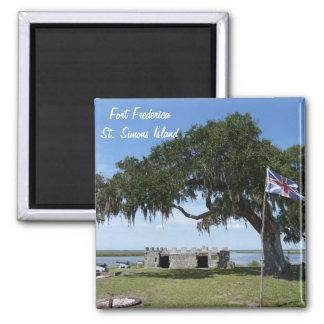 Fort Frederica St. Saint Simons Island Magnet