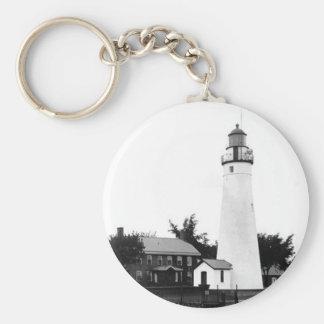 Fort Gratiot Lighthouse 2 Key Ring