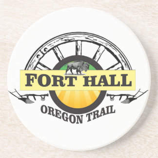 fort hall color coaster
