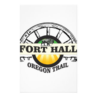 fort hall color stationery