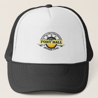 fort hall color trucker hat